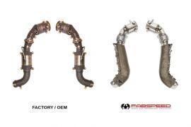 FABSPEED McLaren 650S Catbypass Pipes