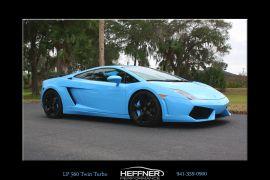 Heffner Performance Twin Turbo upgrade for Lamborghini Gallardo