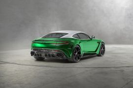 MANSORY Aston Martin DB11 exhaust system