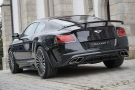 MANSORY Bentley Continental GT/GTC (2016) Exhaust Systems