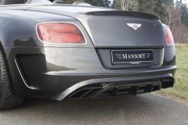 MANSORY Bentley GT / GTC RACE EDITION Exhaust System