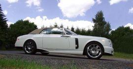 MANSORY Rolls-Royce Bel Air Drophead Coupe Aerodynamics